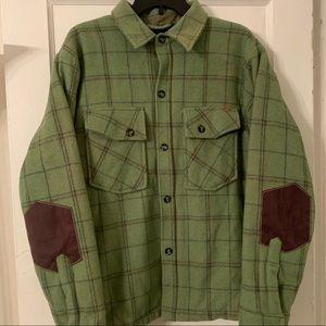 Volcom Workwear Heavyweight Sherpa Lined Flannel L